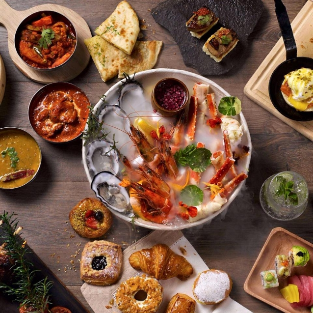 One Of The Best Buffet Restaurants In Town, Spectrum In The Fairmont  Jakarta Hotel Is A Great Place To Satiate Your Appetite. Serving Its  Exclusive Culinary ...