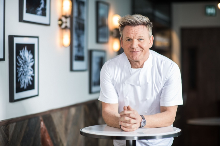 Gordon Ramsay on the site of his newest opening in Hong Kong, Maze Grill.jpg