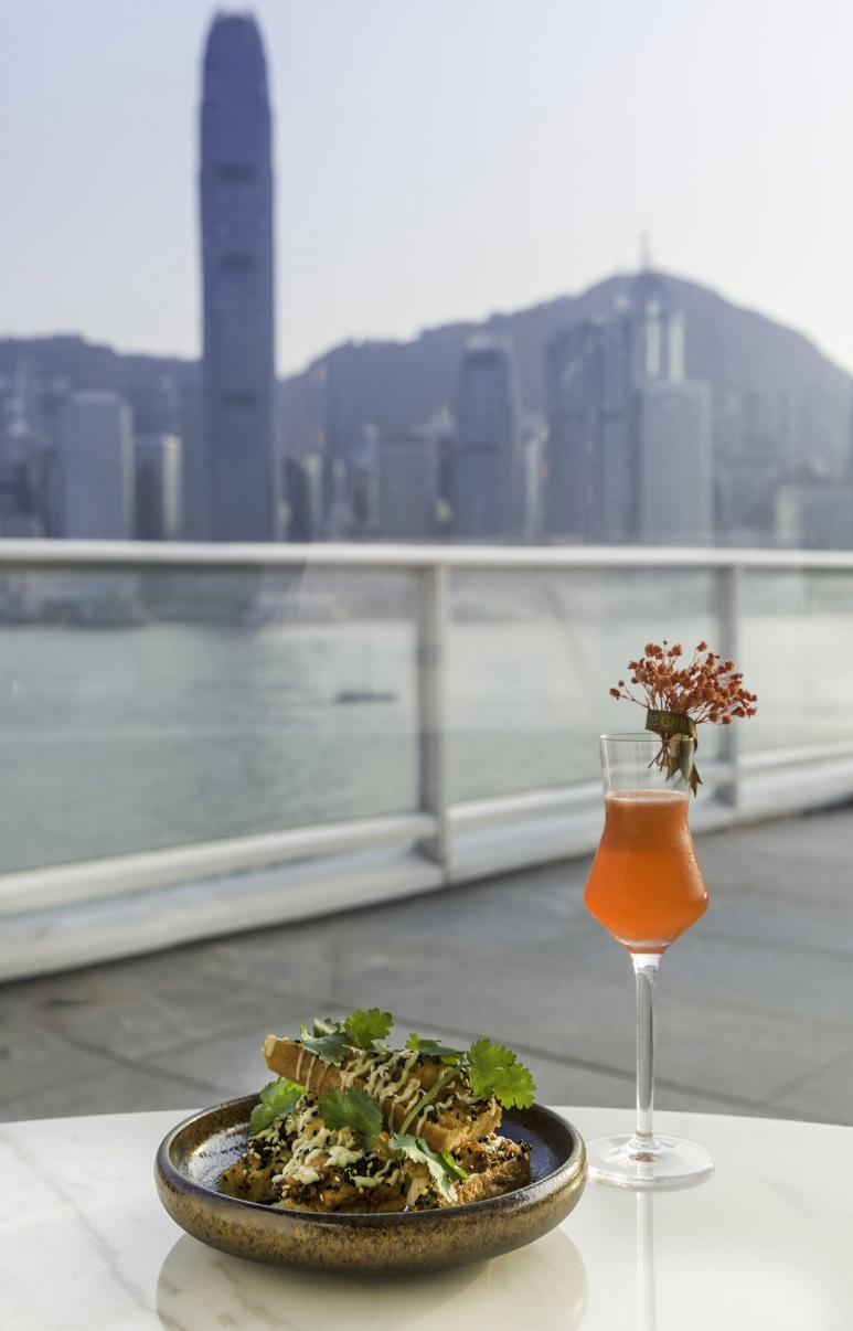 At Maze Grill, diners can enjoy expansive views over Victoria Harbour.jpg